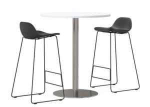ddk emboss bar stool with table
