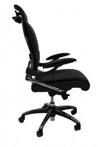 ddk tektron director leather chair side