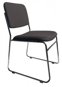 stella ed chair grey fabric no arms