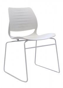 Vivid Visitor Chair White