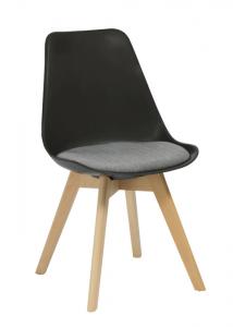 Virgo Black Visitor Chair